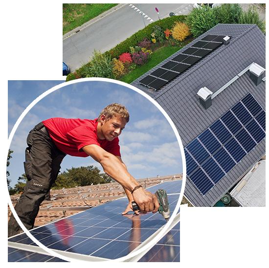 Photovoltaik Einbau Anlage Planung 2