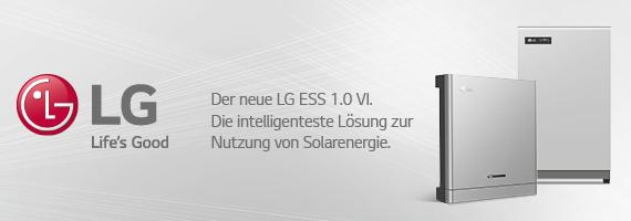 LG Banner intelligente Solarlösung