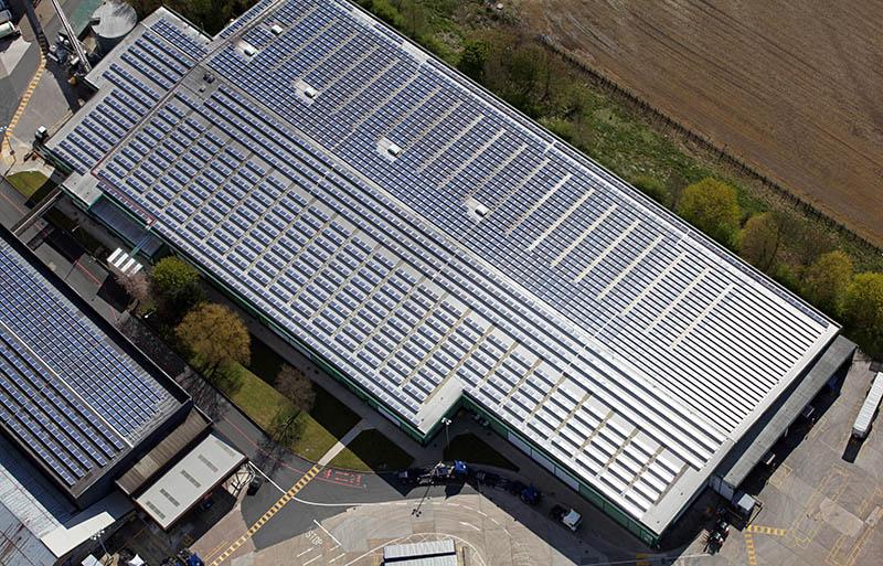 Dachflächenanpachtung Gewerbeobjekt